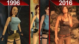 Evolution of Tomb Raider Graphics | PC | ULTRA | 1996 - 2016