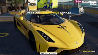 the crew 2 picking test driving cars