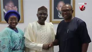 H.E Peter Obi visits The Latter Rain Assembly in Lagos