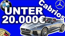 Die 5 besten Cabrios für unter 20.000€