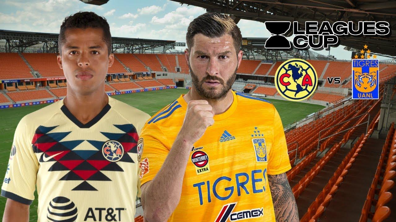 Amrica vs. Tigres UANL EN VIVO ONLINE por la Leagues Cup