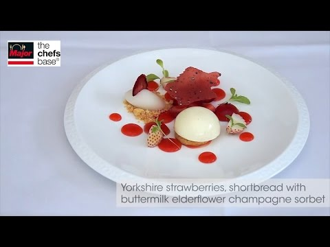 Chef Adam Smith creates duck liver, Lobster and strawberry recipes.