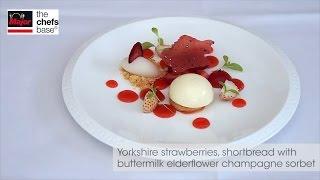 Chef Adam Smith Creates Duck Liver, Lobster And Strawberry Recipes.