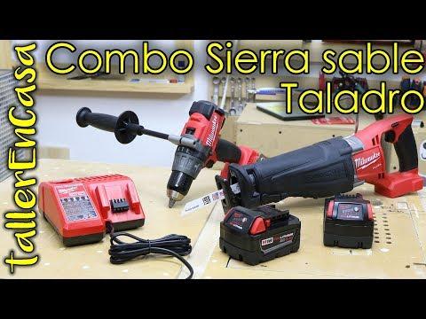 Combo taladro sierra sable Milwaukee 2894-22