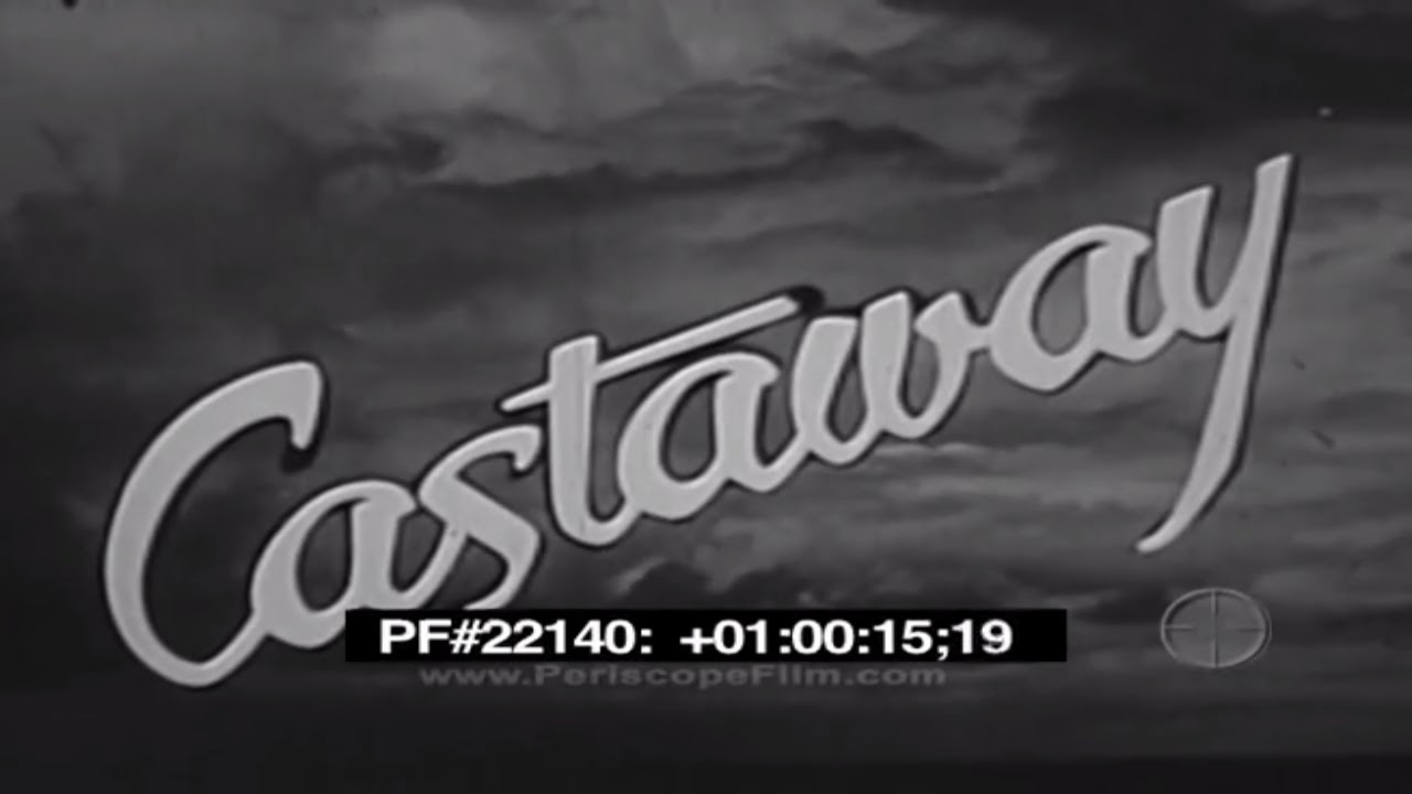 Castaway U.S. Navy World War 2 Survival Film Part 2