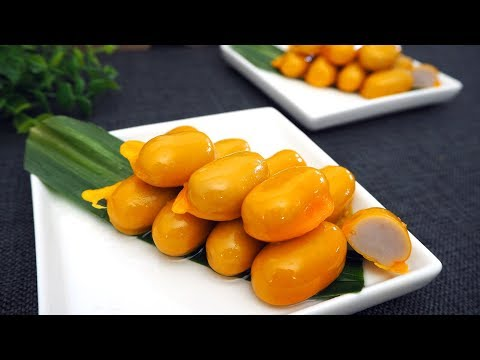 Thai Jackfruit Seed Dessert Recipe | Khanom Med Khanoon | Thai Recipes | Dessert