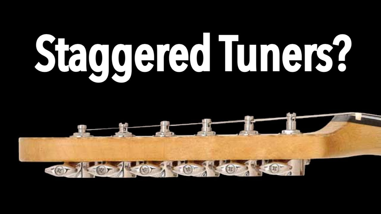 Fender Locking Tuners >> Staggered Tuners: Gotoh SD-91 Review - YouTube