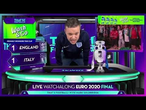 GOLDBRIDGE Best Bits   England 1-1 Italy (2-3 PENS)   EURO 2020 FINAL
