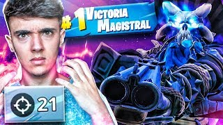 ¡21 KILLS CON EL RAGNAROK al *MÁXIMO* de FORTNITE: Battle Royale! - Agustin51