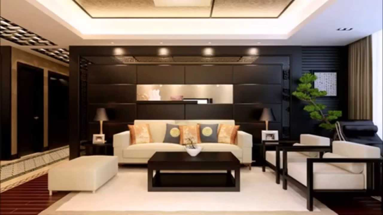 d coration salon en th me chinois youtube. Black Bedroom Furniture Sets. Home Design Ideas