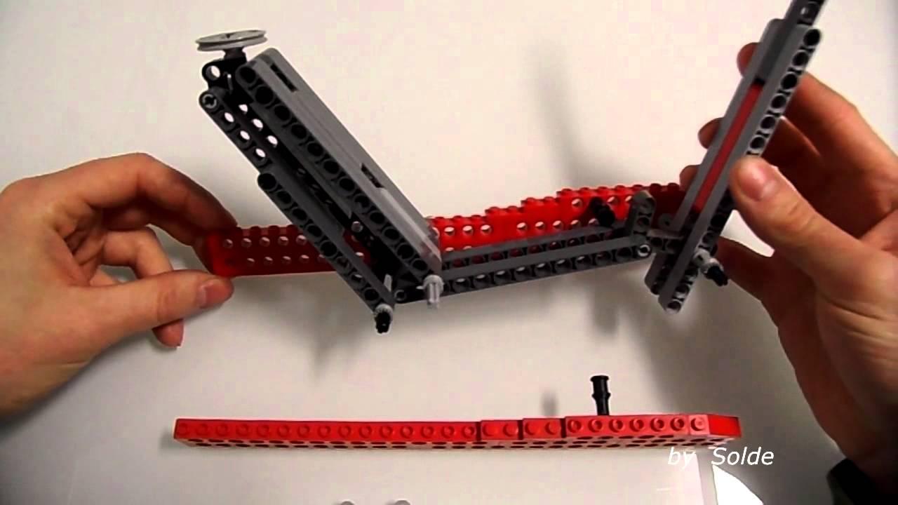 lego technic instructions floor jack by solde youtube. Black Bedroom Furniture Sets. Home Design Ideas