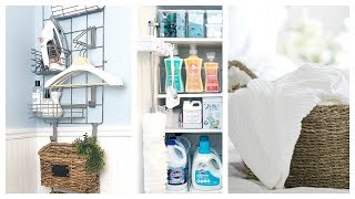 NEW! Laundry Room Organization w/iDesign