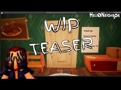 Alpha 2 V2 The Return WIP teaser! (Hello Neighbor Mod)
