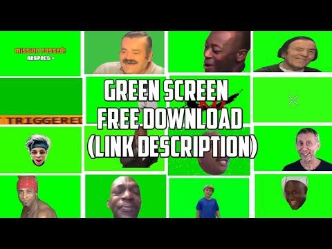 Green Screen Yang Sering Di Gunakan Buat Exe | Chroma Key