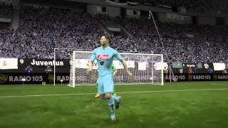How to nutmegs the keeper in style. FIFA 15.