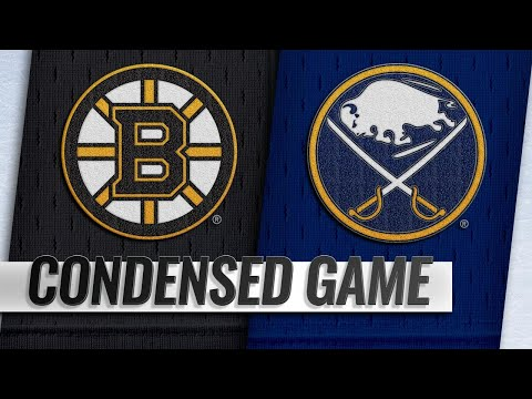 10/04/18 Condensed Game: Bruins @ Sabres