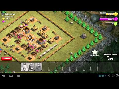 Clash of Clans: Attacking