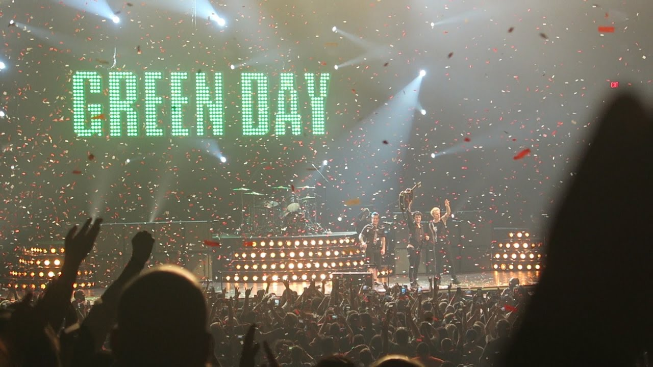 Green Day: Live @ The MGM Grand Garden Arena 4/7/17