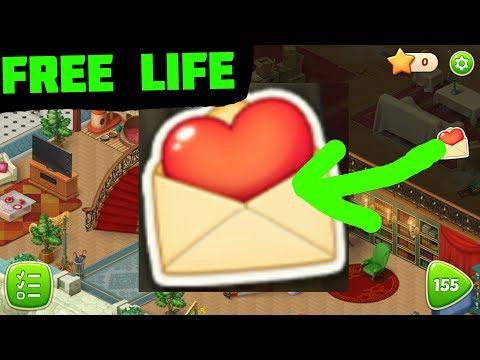 HOMESCAPES - HOW TO GET FREE LIVES (no hacks!)