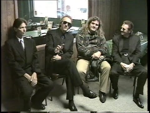 Alice Cooper Group members after Glen Buxton's Funeral