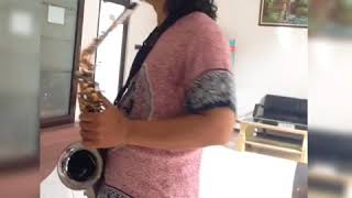 TOTO - I'll Be Over You ALTO SAX cover by Azis Saxsoul