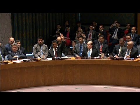 Russia Vetoes UN Syrian Resolution