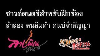 ซาวด์ดนตรี ลำล่องคนลืมคำคนบ่จำสัญญา [Sound Karaoke] - ลายพิณ ชินราช