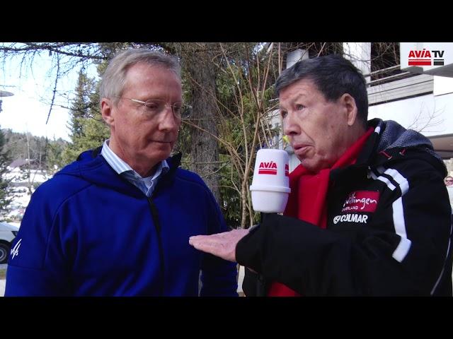 FIS Renndirektor Walter Hofer im Interview