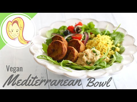 Mediterranean Bowl (Vegan)