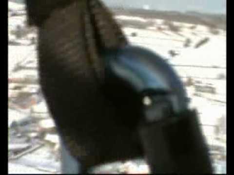 Skydance sneeuw vliegen België 2005