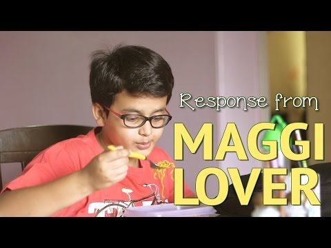 Maggi (2 minutes) Indian Father caught his son eating Maggi | Awesome reply by the Maggi lover