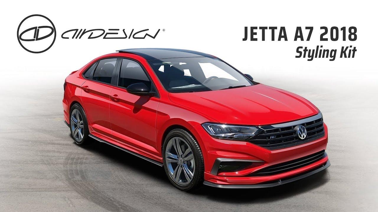 STYLING KIT Jetta A7 2019 - VW English Version - YouTube