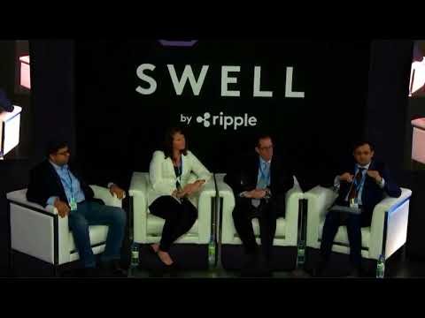 Swell By Ripple Panel discussion with Rahul Pai UAE Exchange COO and other panelist