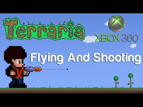 Terraria Xbox - Flying And Shooting [48]