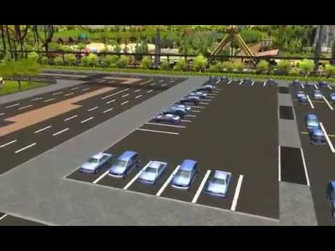 RCT3 - Zoo Parking Lots |