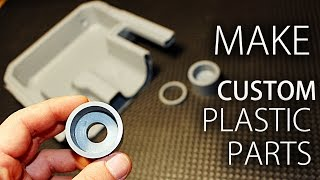 How To Recycle HDPE Plastic & Make Parts!
