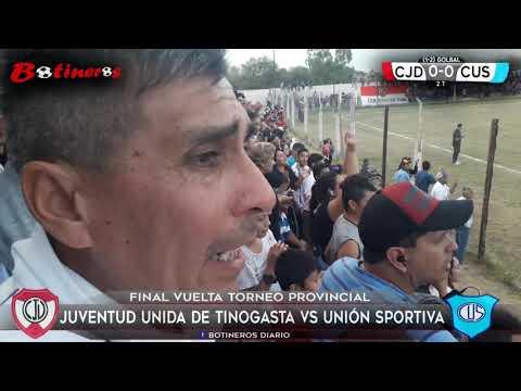 FINAL TORNEO PROVINCIAL, Juventud Tinogasta vs Union Recreo
