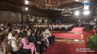 President Duterte's speech during the signing of the Universal Healthcare Act