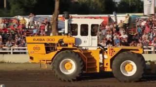 Hajdúböszörmény Tractor Pulling 2016 - Stock tractors