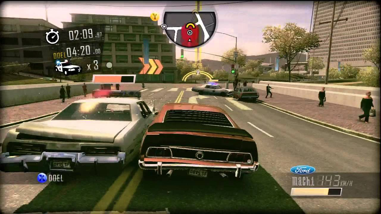 driver san francisco ford mustang mach 1 gameplay. Black Bedroom Furniture Sets. Home Design Ideas