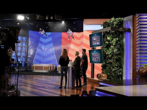 Ellen's Staff Members Play 'You Bet Your Wife'