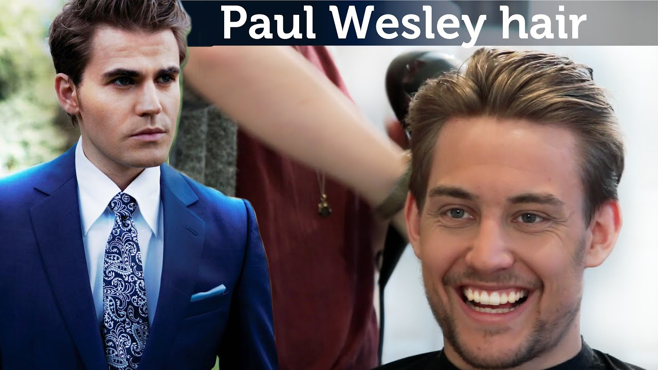 Paul Wesley Hair Tutorial | Awesome Men's Hairstyle | Slikhaar TV is Inspiration for Men
