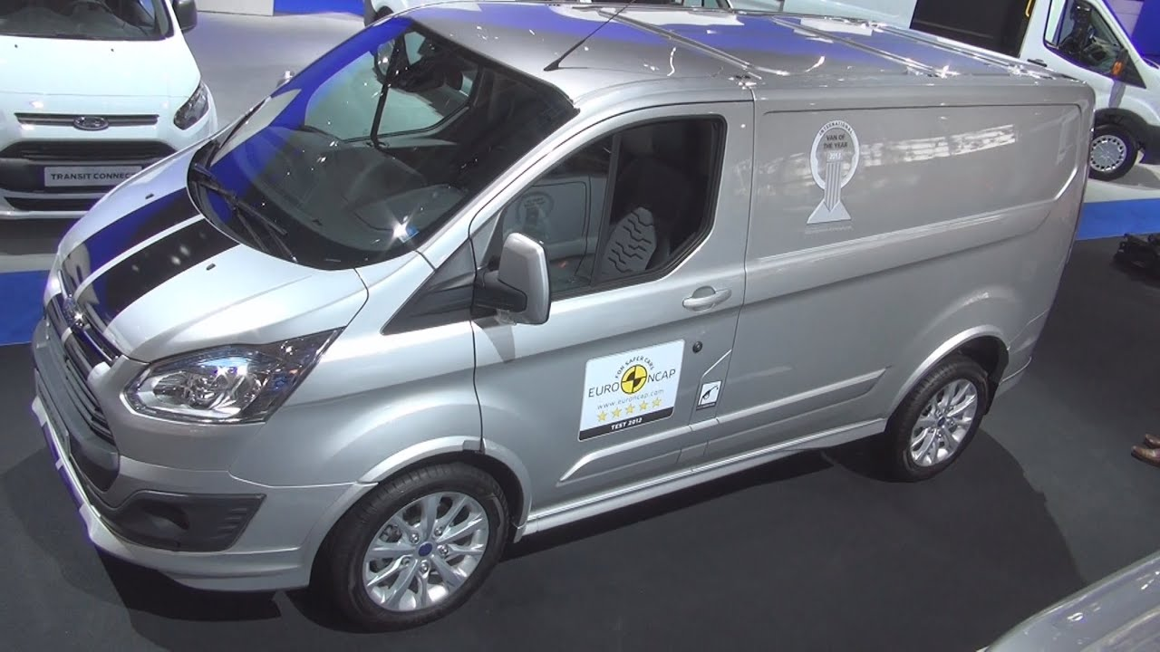Ford Transit Custom Panel Van Exterior And Interior In 3D 4K UHD