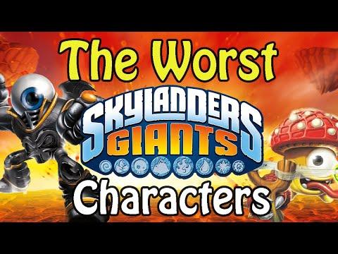 The Worst Skylander of Each Element - Skylanders Giants