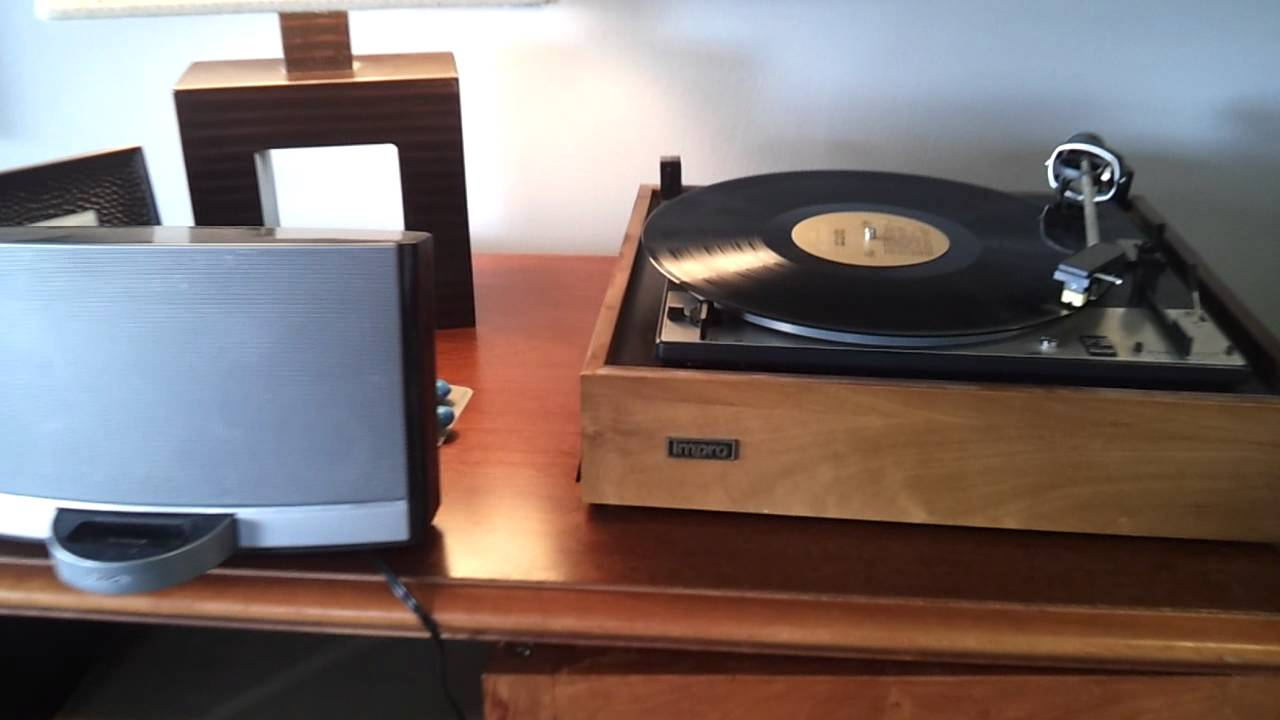 Connected Old Turntable To Bose Youtube
