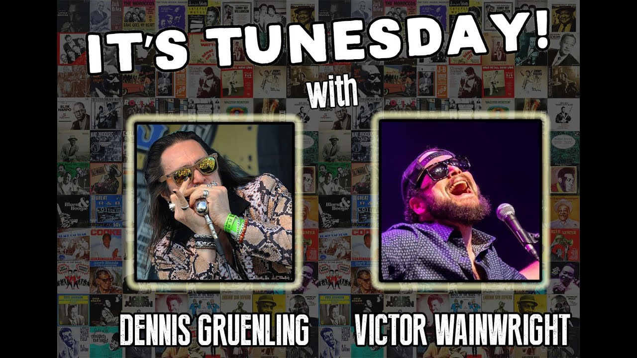 Tunesday #3 - w/Victor Wainwright! Big Dog's Runnin' This Town, Blues Harmonica Boogie Woogie Jam