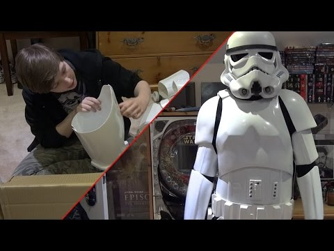 Shepperton Design Studios Stormtrooper Armour - Unboxing and