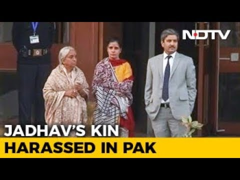 How Pakistani media harassed Kulbhushan Jadhav's mother, wife