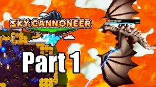 SKY CANNONEER Gameplay Walkthrough Part 1 - Tutorial & Intro - No Commentary [PC Steam]