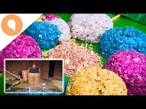 TASTING VIBRANT STICKY-RICE BALLS IN NORTHERN VIETNAM
